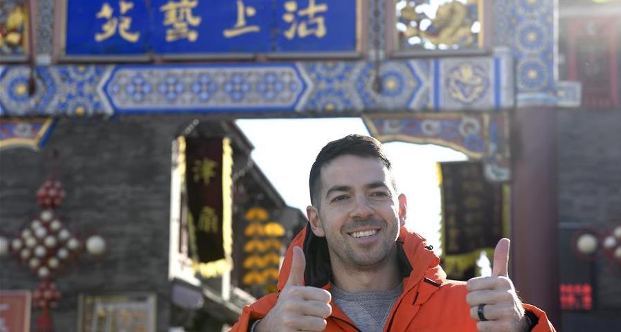 體育圖片故事|羅切斯特:我在中國打球 我喜歡這裏