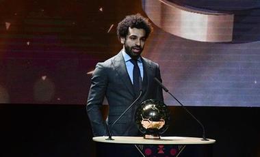 薩拉赫再度當選非洲足球先生