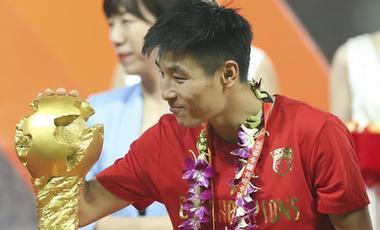 裏皮:武磊將出戰對陣菲律賓 對中國足球未來充滿信心