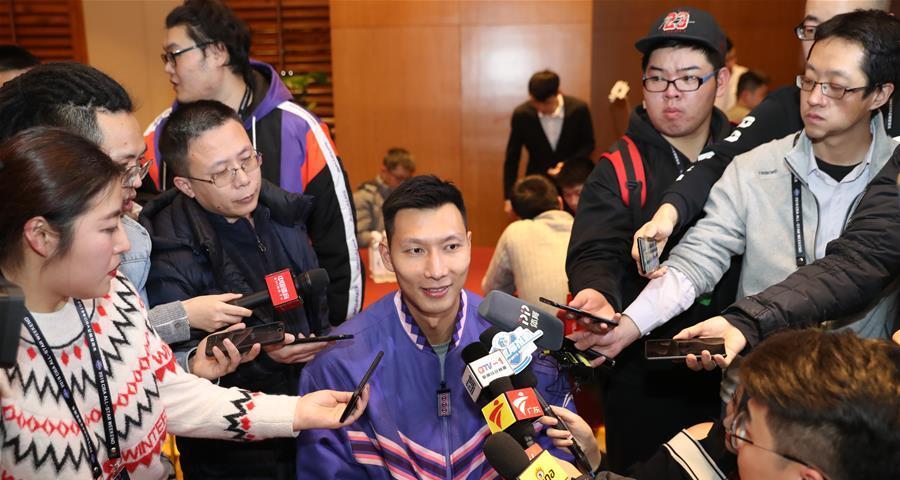CBA全明星首發球員圓桌採訪在青島舉行