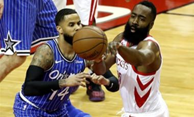 NBA常規賽:火箭勝魔術