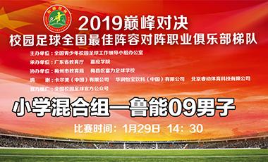 2019 巔峰對決 小學混合組——山東魯能09男子