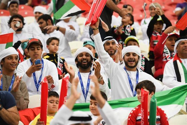 """亞洲杯:""""東道主""""PK 卡塔爾狂勝阿聯酋"""