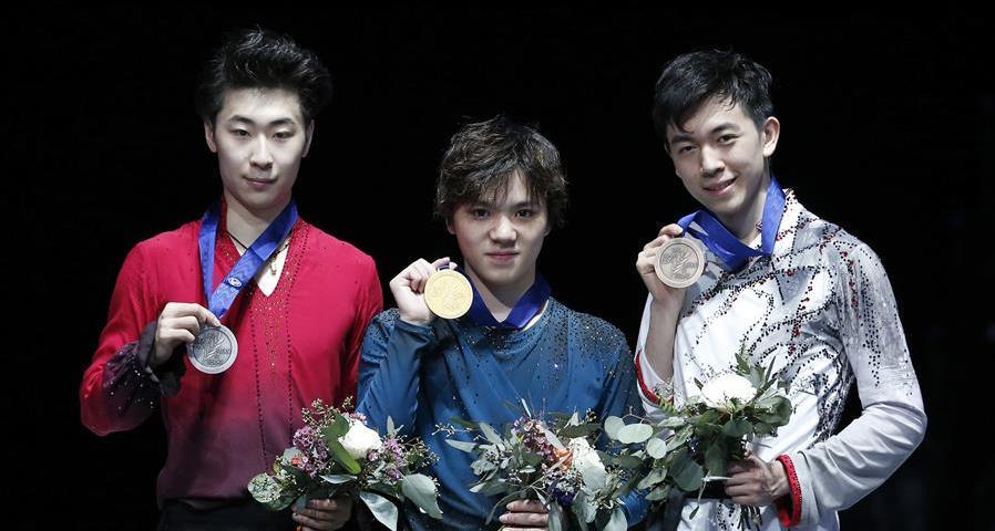 花樣滑冰——四大洲賽:金博洋獲男單亞軍