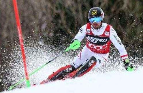 高山滑雪世錦賽希爾斯赫摘下第七金追平男子紀錄