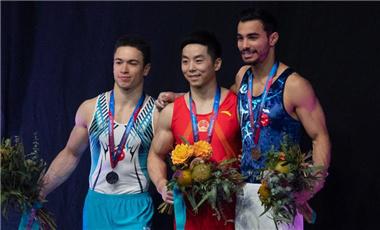 体操世界杯墨尔本站收官 中国队再获两
