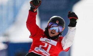 中國選手包攬單板滑雪平行項目亞洲杯男女冠軍