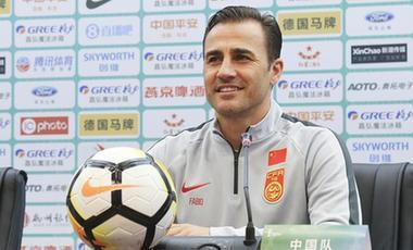 釋疑身份、談中國杯與世界杯——卡納瓦羅亮相中國杯新聞發布會