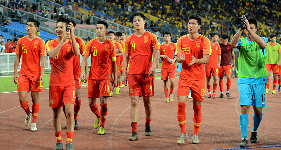 U23亚锦赛预选赛:中国国奥平马来西亚国奥
