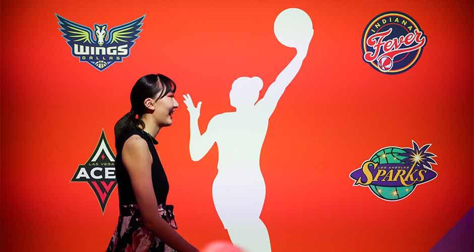 韩旭被WNBA纽约自由人队选中