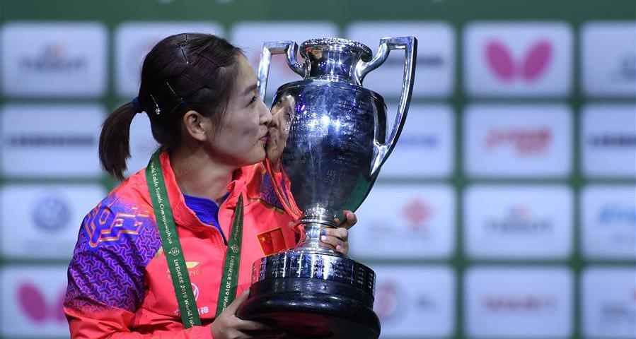 世乒赛:刘诗雯女单夺冠