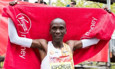 基普喬格第四次贏得倫敦馬拉松 創歷史第二好成績