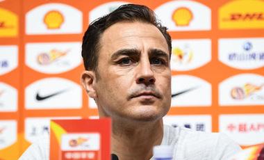 卡納瓦羅微博宣布放棄中國男足主帥職位
