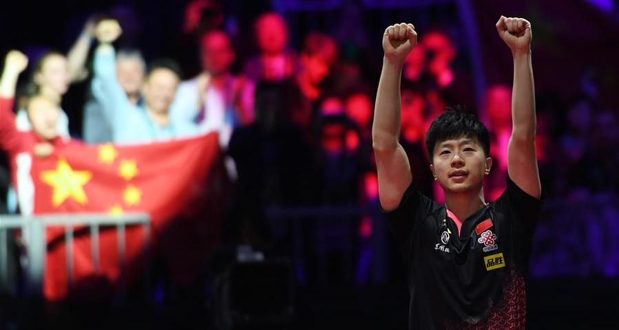 世乒赛:马龙男单夺冠