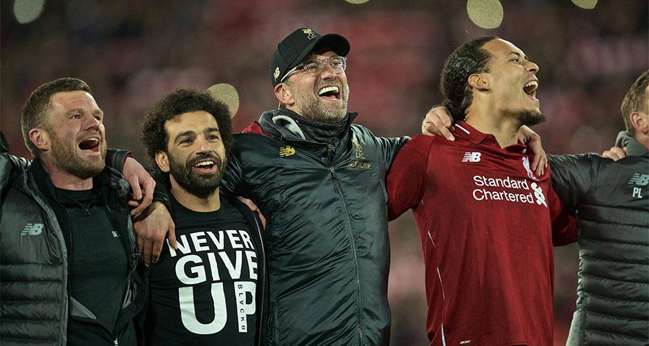 利物浦上演奇迹逆转 晋级欧冠决赛