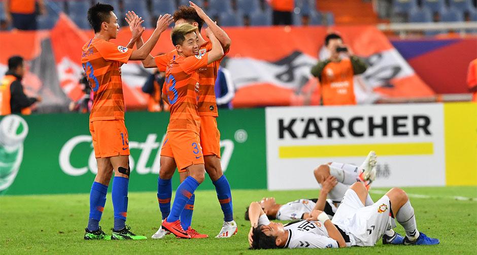 亚冠联赛:山东鲁能胜韩国庆南FC