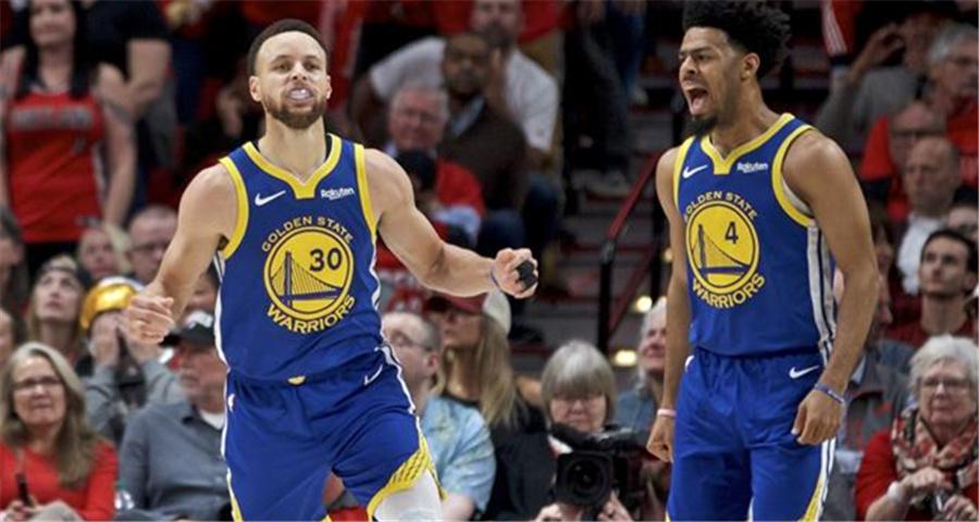 NBA:勇士隊奪得西部冠軍