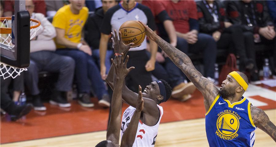 NBA总决赛第二场:勇士胜猛龙