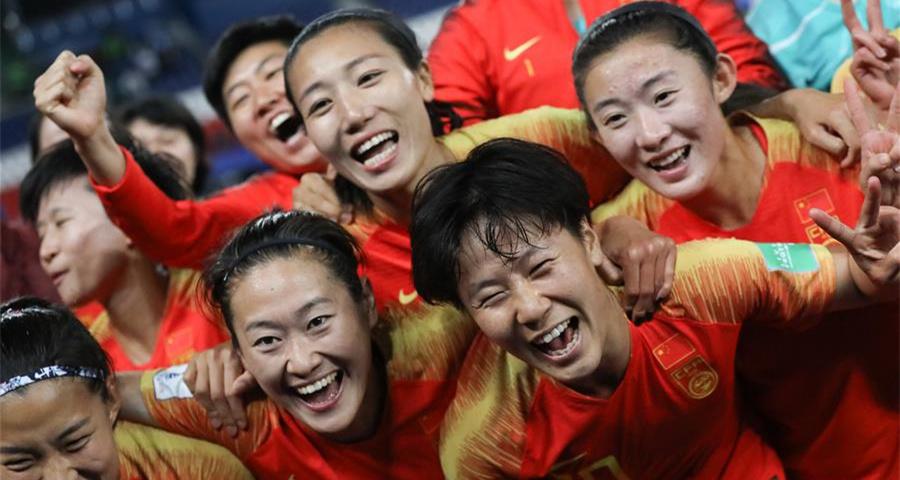女足世界杯B組:中國隊戰勝南非隊