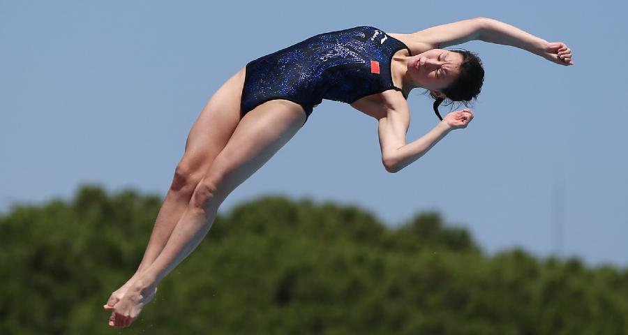 大运会跳水项目开赛