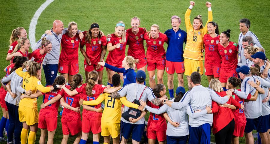 女足世界杯:美国队晋级决赛