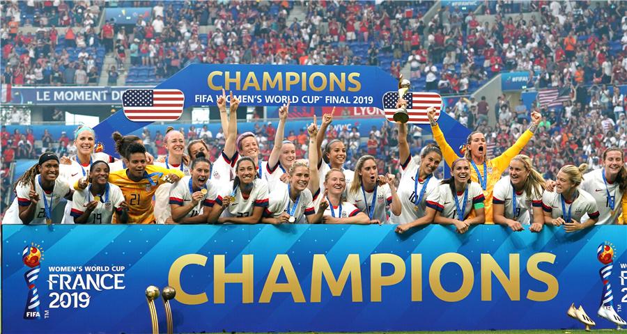 女足世界杯:美国队夺冠