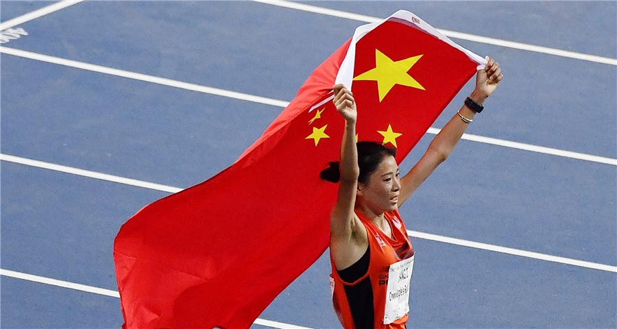 女子10000米:中国选手张德顺夺冠