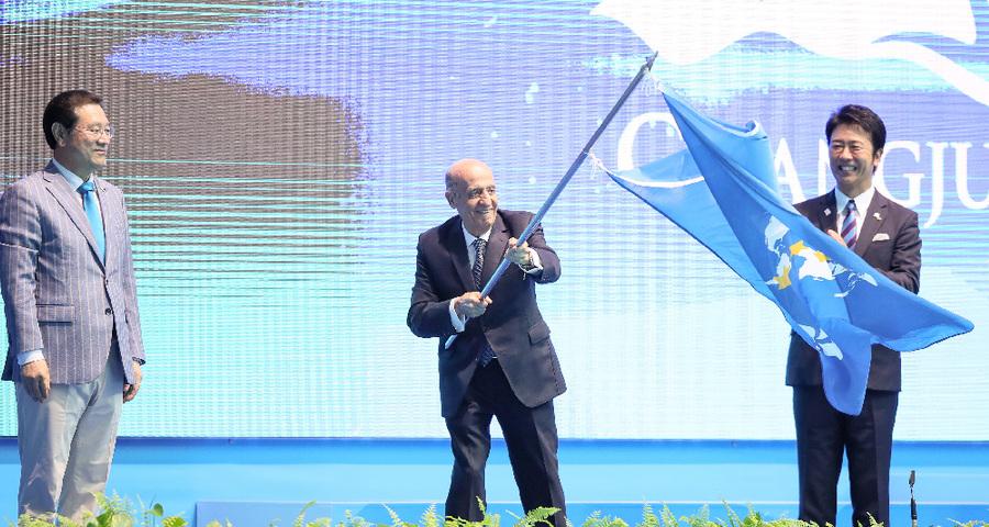 光州游泳世锦赛落幕