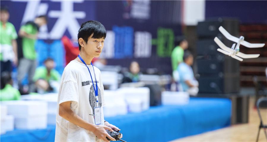 第21届全国青少年航空航天模型教育竞赛在宁夏开赛