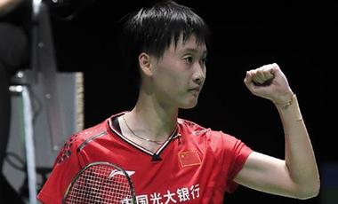 羽毛球世錦賽:諶龍、陳雨菲晉級16強 中國隊男雙選手全告捷
