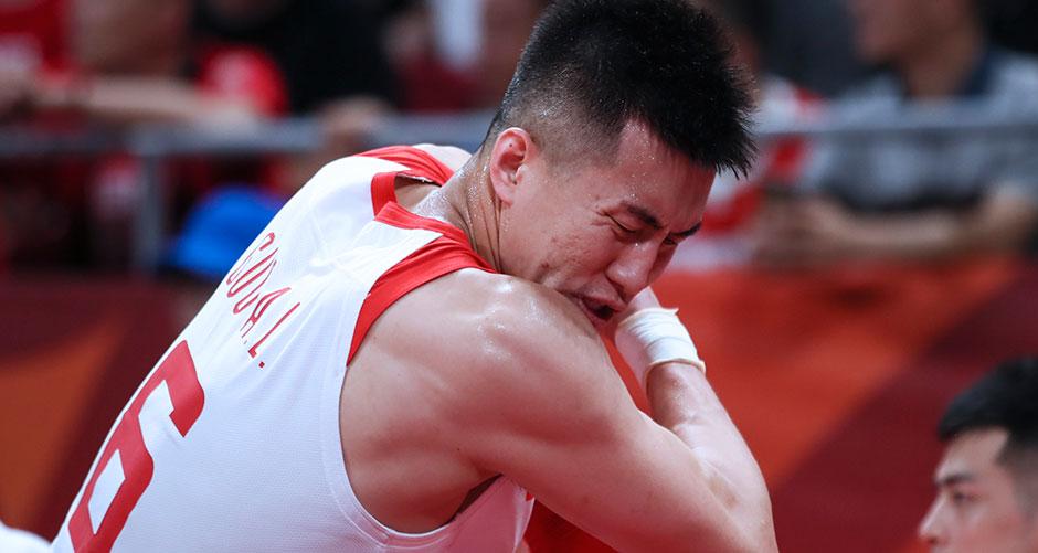 篮球世界杯小组赛:中国队不敌波兰队