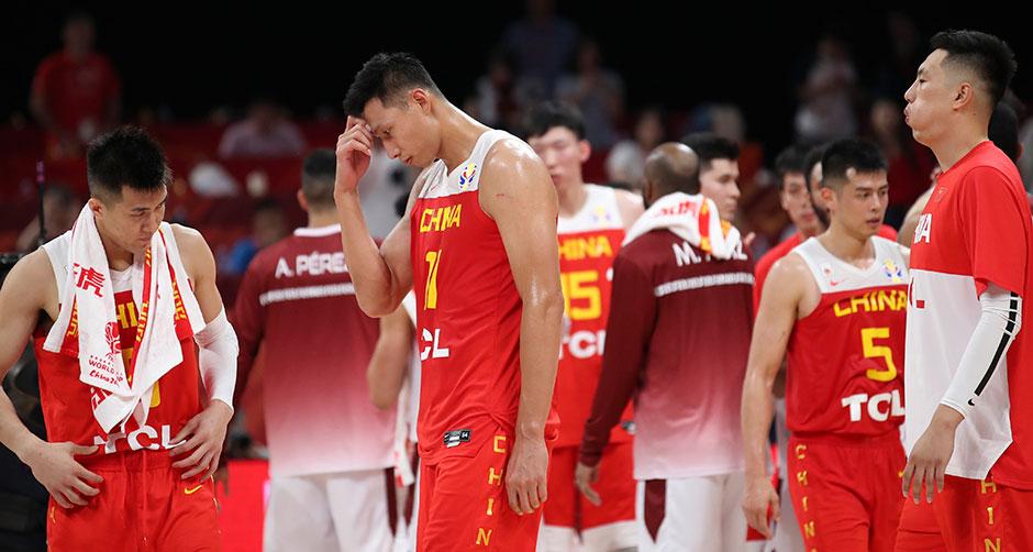篮球世界杯小组赛:中国队负于委内瑞拉队