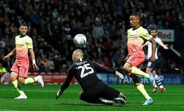 英聯杯:曼城客場戰勝普雷斯頓