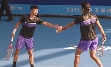 珠海網球冠軍賽:吳迪/張之臻無緣八強