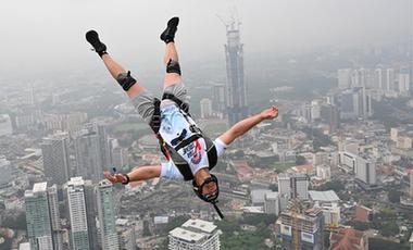 2019吉隆坡塔國際跳傘節在馬來西亞舉行