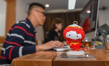 """探訪北京2022年冬殘奧會吉祥物""""雪容融""""設計團隊"""