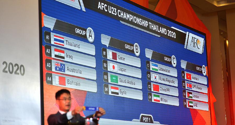 東京奧運會亞洲區預選賽抽簽儀式在曼谷舉行