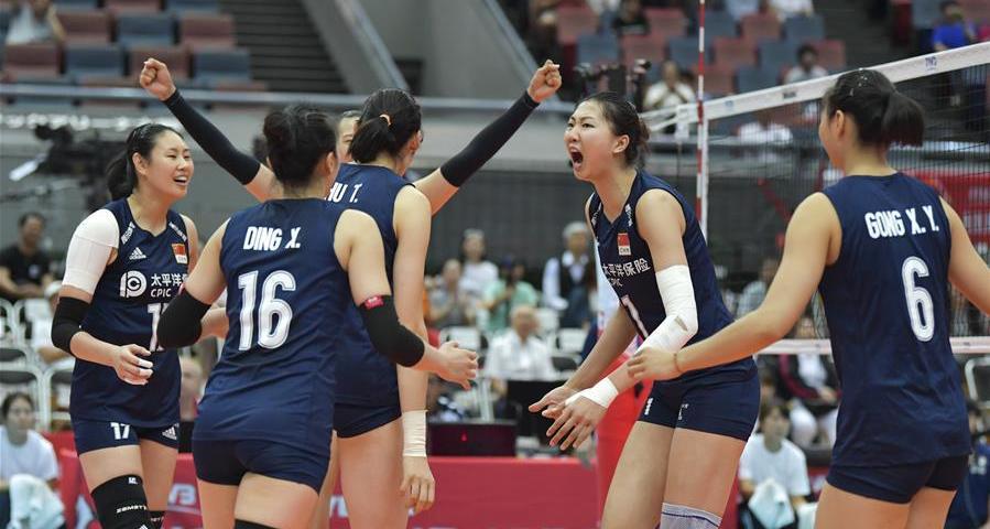 九連勝!女排世界杯:中國隊3-1勝荷蘭隊