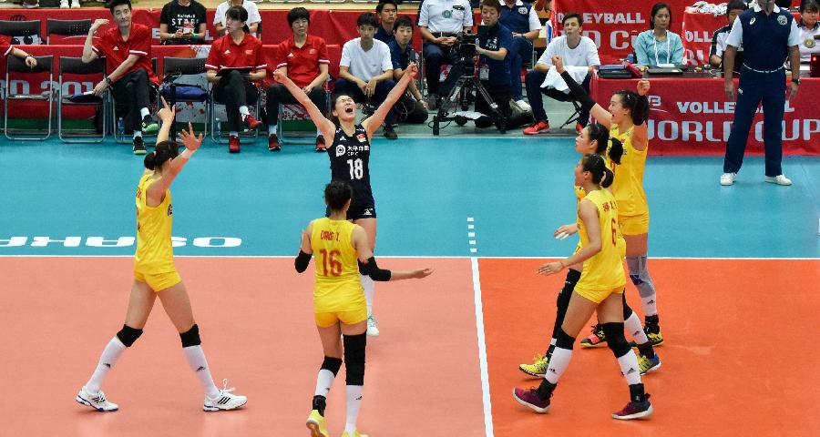 """英雄兒女讓祖國更加偉大——寫在中國女排第十次獲得""""世界三大賽""""冠軍之際"""