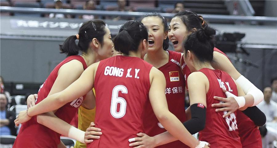 女排世界杯:中國隊十一連勝 成功衛冕