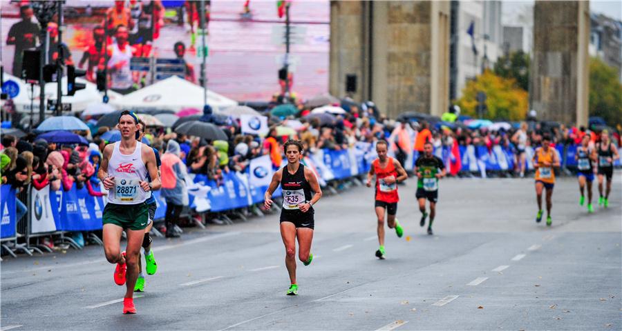 2019柏林馬拉松賽舉行