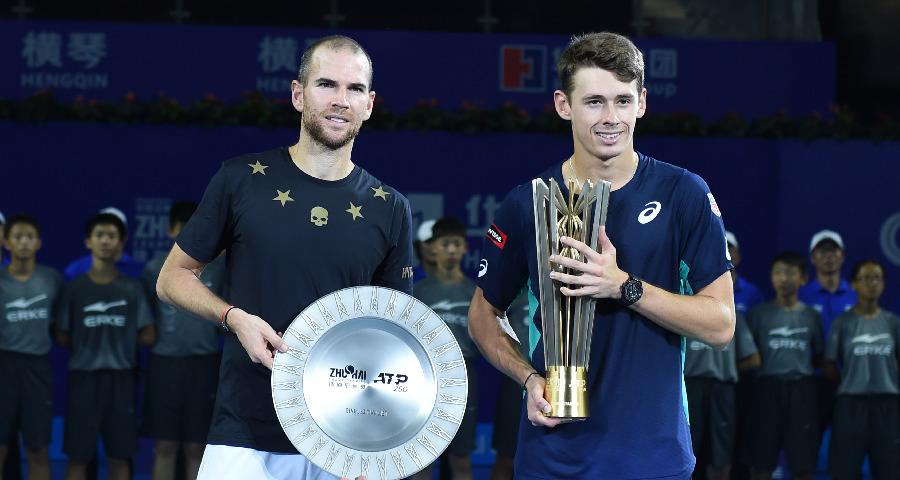 珠海網球冠軍賽:德米納爾獲得男單冠軍