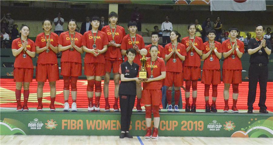 女籃亞洲杯:中國隊獲得亞軍