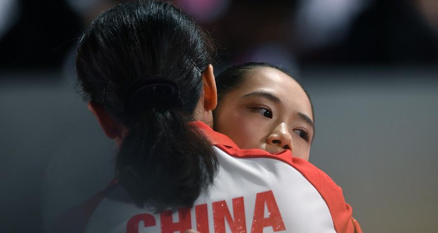 世錦賽女子團體決賽:中國隊位列第四