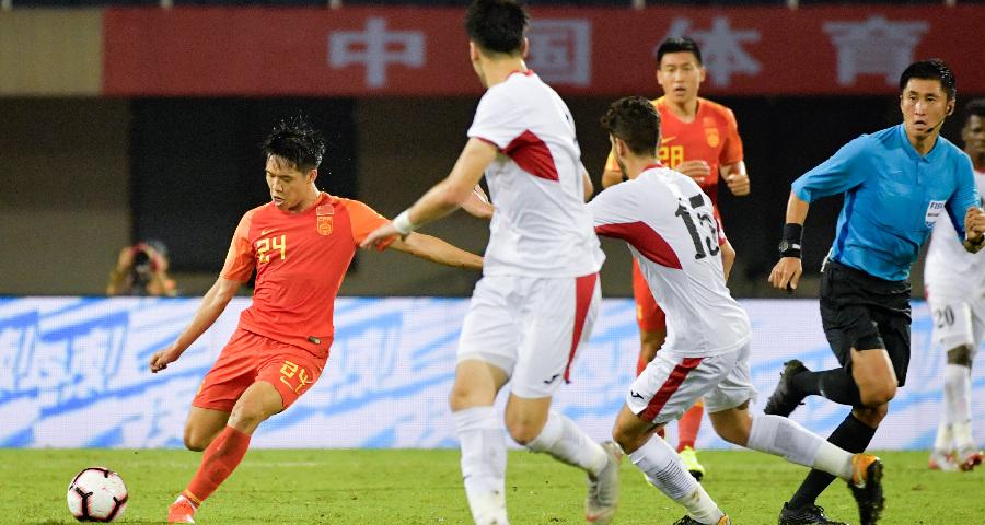 中國之隊國際足球錦標賽:中國U22隊勝約旦U22隊