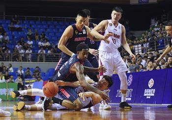 CBA季前賽:浙江稠州銀行勝廣東東莞銀行