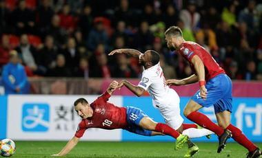 歐洲杯預選賽:英格蘭不敵捷克