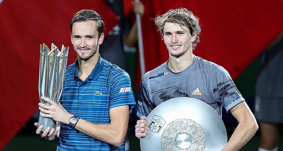 上海網球大師賽:梅德維德夫奪冠