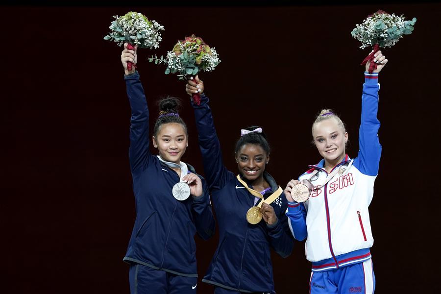體操世錦賽女子自由體操決賽賽況