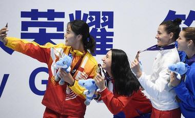 競技有輸贏 友情無國界——聚焦軍運會賽場內外的跨國友情